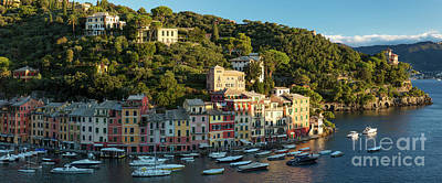Photograph - Portofino Morning Panoramic by Brian Jannsen