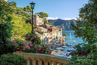 Photograph - Portofino Morning View by Brian Jannsen