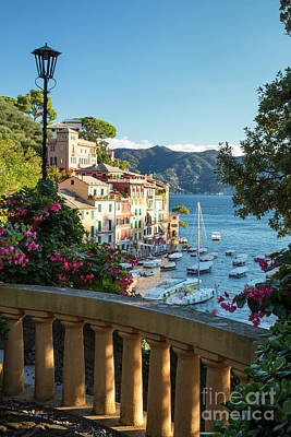 Park Portofino Italy Photograph - Portofino Overlook by Brian Jannsen