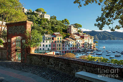 Park Portofino Italy Photograph - Portofino Overlook II by Brian Jannsen
