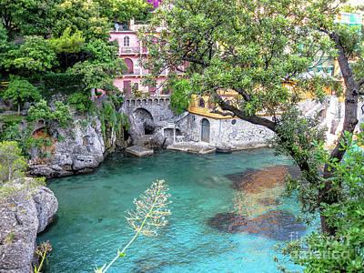 Park Portofino Italy Photograph - Portofino Scenic Road by Benny Marty