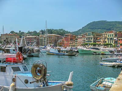 Park Portofino Italy Photograph - Portofino Vacation Resort by Benny Marty