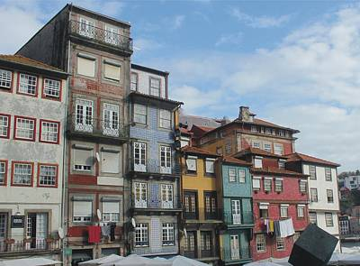 Porto's Houses Original by Michel Poulin