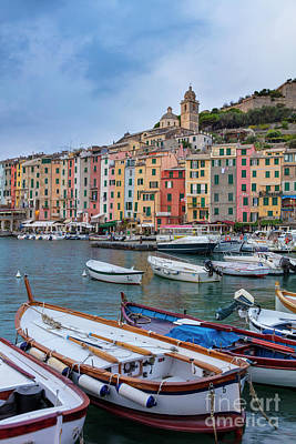 Photograph - Portovenere Morning by Brian Jannsen