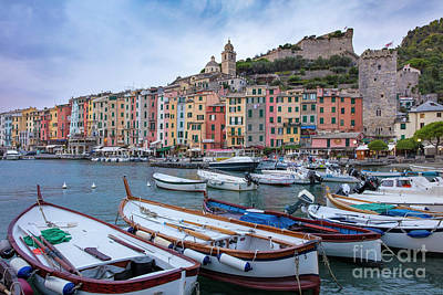 Photograph - Portovenere Morning II by Brian Jannsen