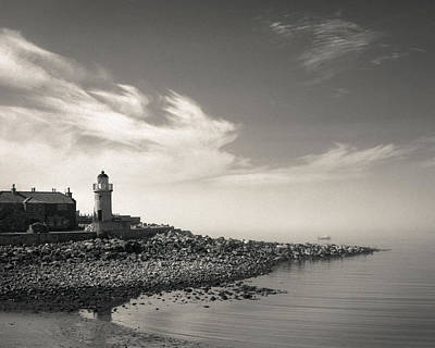 Photograph - Portpatrick Lighthouse by Dave Bowman
