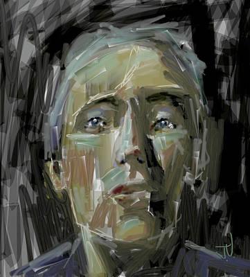 Digital Art - Portrait - 10march2017 by Jim Vance