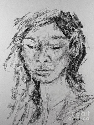 Portrait 1820 Art Print by Robert Yaeger
