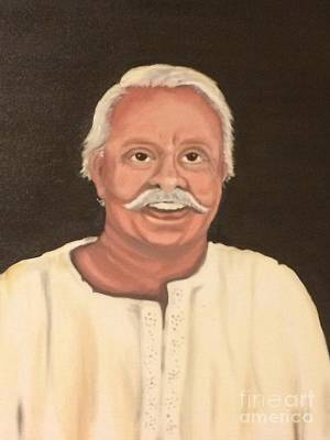 Painting - Portrait 2 by Brindha Naveen
