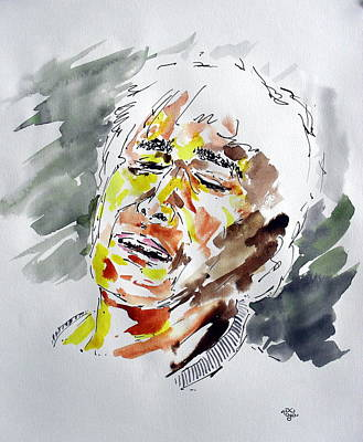 Depression Mixed Media - Portrait 83 by Mohd Raza-ul Karim