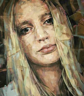 Atkinsky Painting - Portrait by Alexander Ilichev