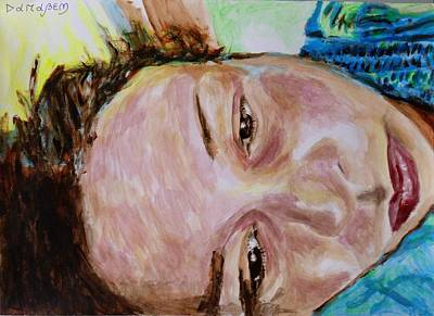 Inner World Painting - Portrait And Selfportrait by Darabem Artist