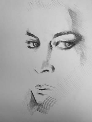 Portrait Art Print by Candice DeKay