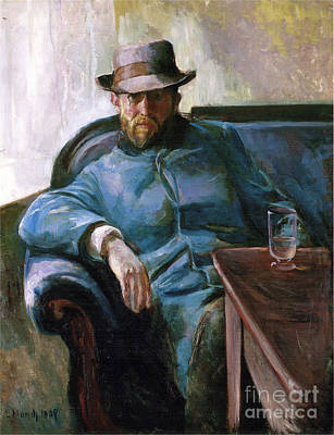 Portrait De Hans Jaeger Art Print by MotionAge Designs