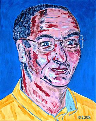 Painting - Portrait Dr. R. Meiritz by Valerie Ornstein