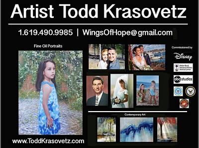 Photograph - Portrait Flyer by Todd Krasovetz