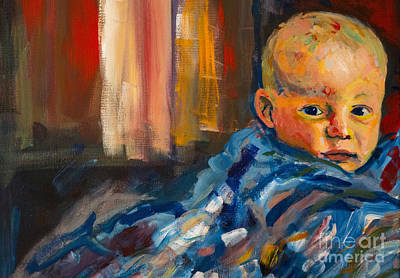 Painting - Portrait For A Mother by Angelique Bowman