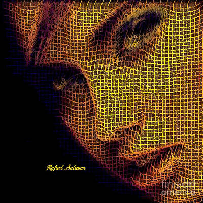 Ps I Love You - Portrait in Mesh by Rafael Salazar