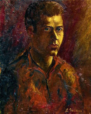Painting - Portrait by Leonard Holland
