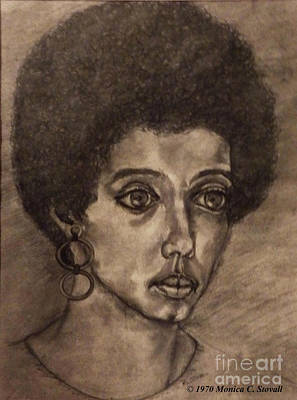 Drawing - Portrait by Monica C Stovall