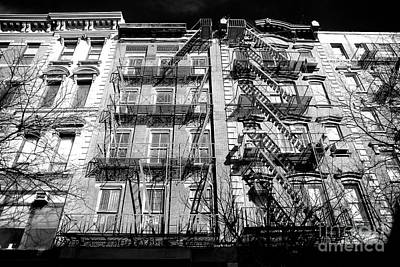 Photograph - Portrait Of A Bowery Building by John Rizzuto