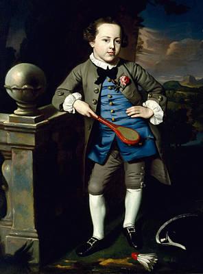 Singleton Painting - Portrait Of A Boy by John Singleton Copley