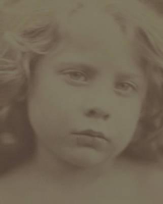 Portraits Photograph - Portrait Of A Child, 1866 by Julia Margaret Cameron