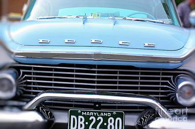 Photograph - Portrait Of A Classic Dodge by John S