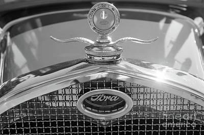 Photograph - Portrait Of A Classic Ford by John S