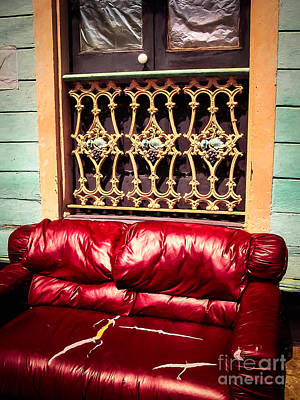 Photograph - Portrait Of A Couch - Nola by Kathleen K Parker
