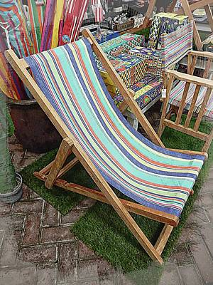 Photograph - Portrait Of A Deckchair by Dorothy Berry-Lound