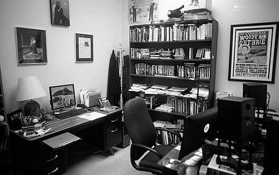 Photograph - Portrait Of A Film/tv Professor's Office by Jeremy Butler
