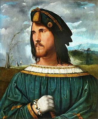 Painting - Portrait Of A Gentleman by Altobello Melone