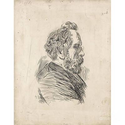Portrait Painting - Portrait Of A Gentleman by MotionAge Designs