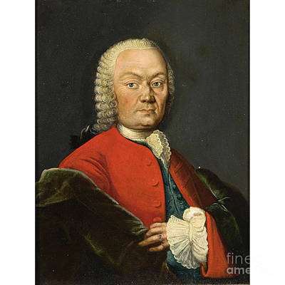 Portrait Painting - Portrait Of A Gentleman by Celestial Images