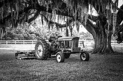Photograph - Portrait Of A John Deere by Scott Hansen