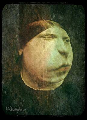 Digital Art - Portrait Of A Lady by Delight Worthyn
