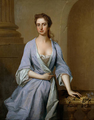 Painting - Portrait Of A Lady by Michael Dahl
