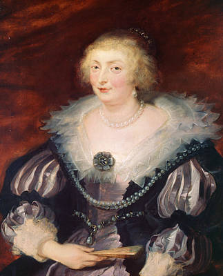 Peter Painting - Portrait Of A Lady by Peter Paul Rubens