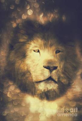 Photograph - Portrait Of A Lion by Maria Urso