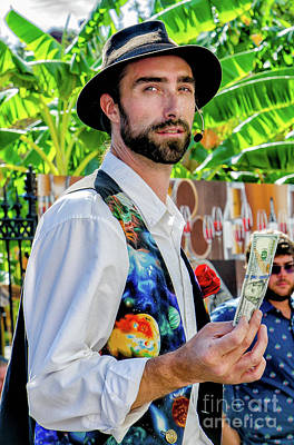 Photograph - Portrait Of A Magician-nola by Kathleen K Parker