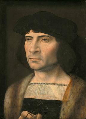 Painting - Portrait Of A Man by Jan Gossaert