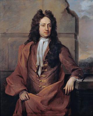 Painting - Portrait Of A Man by Michael Dahl