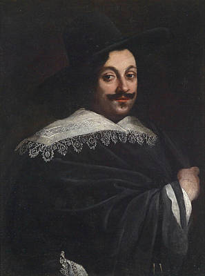 Painting - Portrait Of A Nobleman by Orazio Fidani
