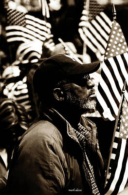 Photograph - Portrait Of A Patriot by Mark Alesse