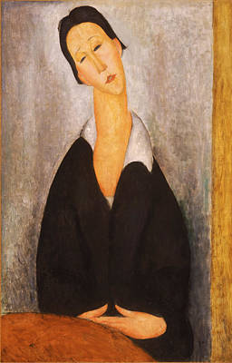 Painting - Portrait Of A Polish Woman by Amedeo Modigliani