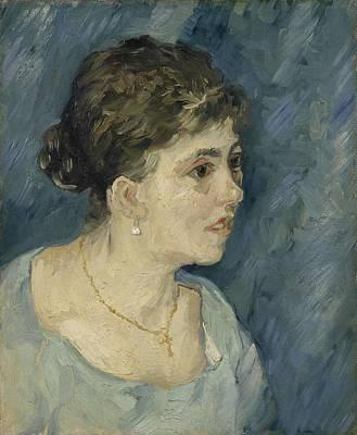 Painting - Portrait Of A Prostitute Antwerp December 1885 Vincent Van Gogh 1853  1890 by Artistic Panda