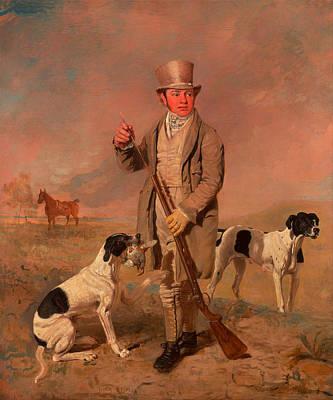 Portrait Of A Sportsman - Possibly Richard Prince Art Print