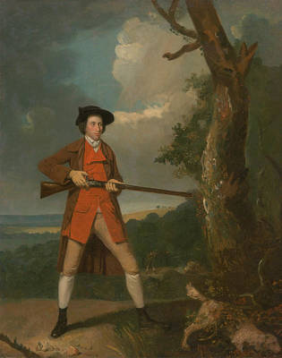 Painting - Portrait Of A Sportsman, Possibly Robert Rayner by Treasury Classics Art