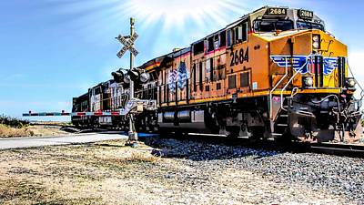Photograph - Portrait Of A Train by Joe Lach